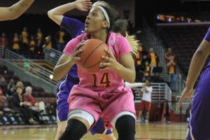 Secret weapon · Junior guard Ariya Crook enters the game against Arizona averaging 15.8 points per game for the Women of Troy. Crook did not play in USC's game against the Wildcats earlier this season. - Ricardo Galvez | Daily Trojan