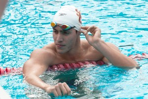 Out with a bang · Senior swimmer Cristian Quintero won his first-ever NCAA title over the weekend, finishing first in the 500-yard free. The Venezuelan also finished second in the 200-yard free and third in the 100-yard free. - Will Ehart | Daily Trojan