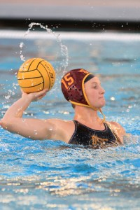 O Captain! · Senior Kaleigh Gilchrist scored two goals against UC Irvine on Sunday, enough to move her up to No. 13 on USC's all-time scoring list. - Corey Marquetti | Daily Trojan