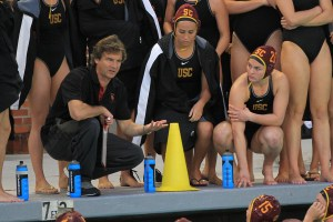 The skipper · In 19 years at USC, Jovan Vavic has won 13 national titles and 12 National Coach of the Year Awards. Last fall, Vavic claimed a record sixth consecutive national championship with the men's squad. - Corey Marquetti | Daily Trojan