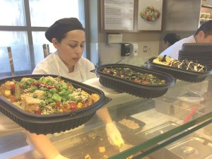 Going with the grain · The new grain station at Seeds provides wholesome, flavorful vegetarian meals that are made to order. This is one of several upgrades made across campus to various dining establishments. - Maral Tavitian | Daily Trojan