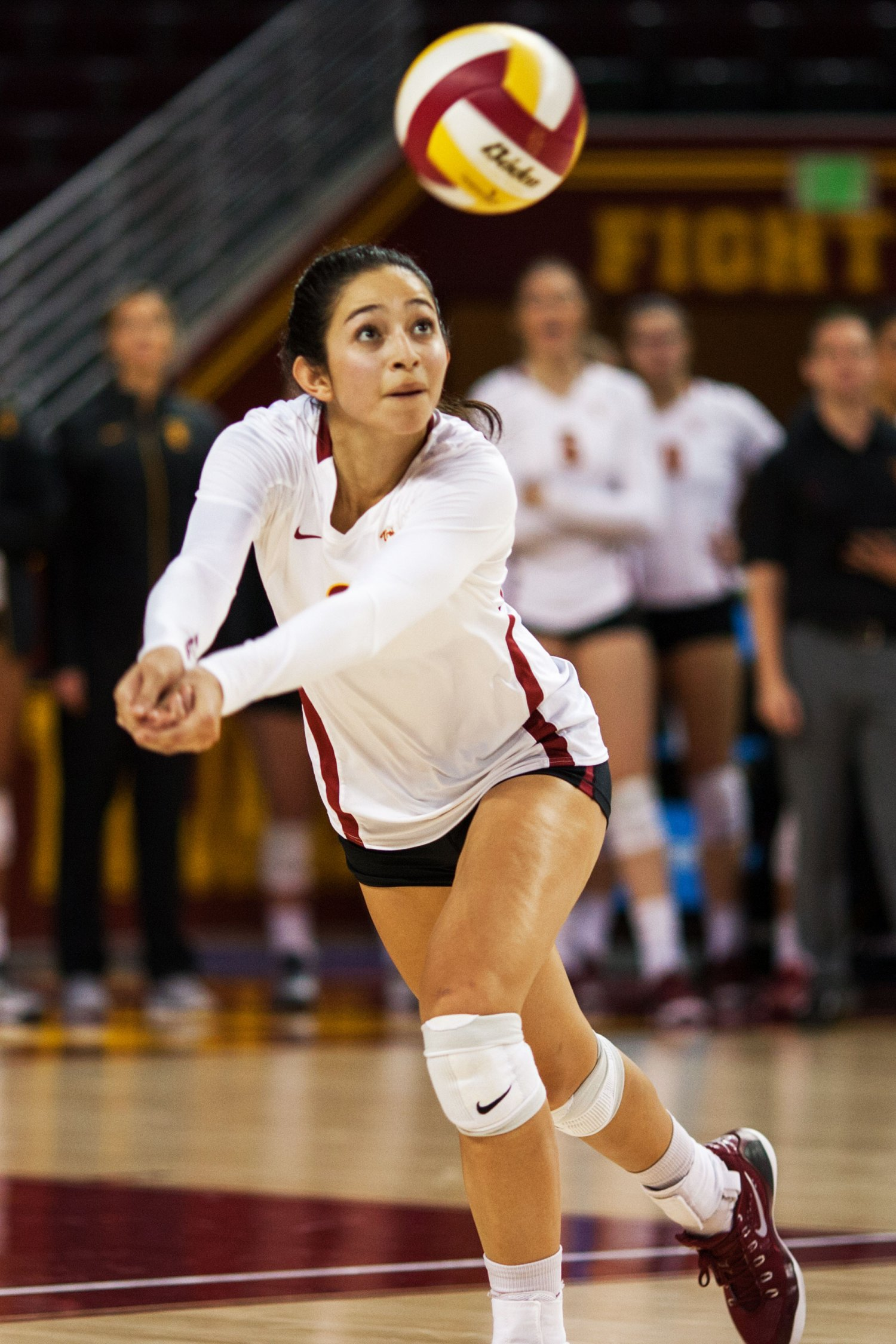 Just keep digging · Senior outside hitter Samantha Bricio brings veteran experience to the    roster as a three-year starter. The Pac-12 All Star looks to add a conference title to her resume.  - Brian Ji| Daily Trojan