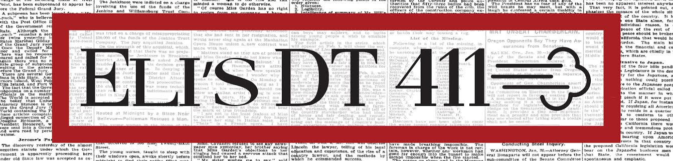 Eli DT 411 Banner
