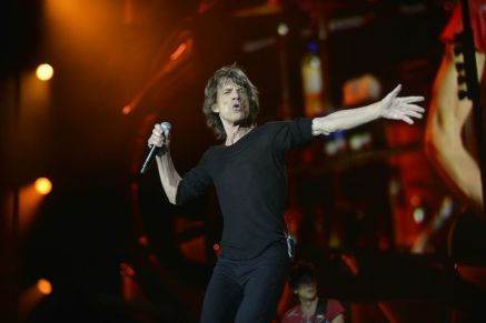 Photo courtesy of Decca Records  Moves like Jagger · The Rolling Stones will perform at both weekends of the music festival. Lead vocalist Mick Jagger (above) is one of several anticipated artists to perform at Desert Trip this year.