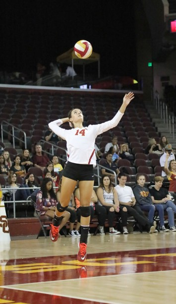 Alexandra Ting   Daily Trojan Home sweet home · Junior setter Reni Meyer-Whalley and the No. 24 Women of Troy have two home games before they take a long road trip.