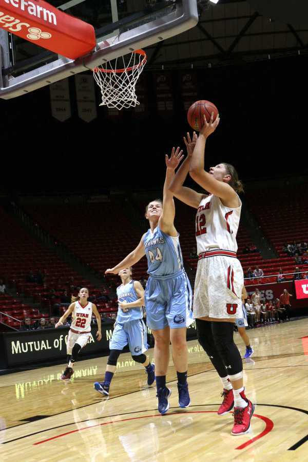 Women's Basketball: Potter records career-highs to remain ...