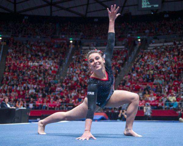 Utah Gymnastics vs Stanford – Daily Utah Chronicle