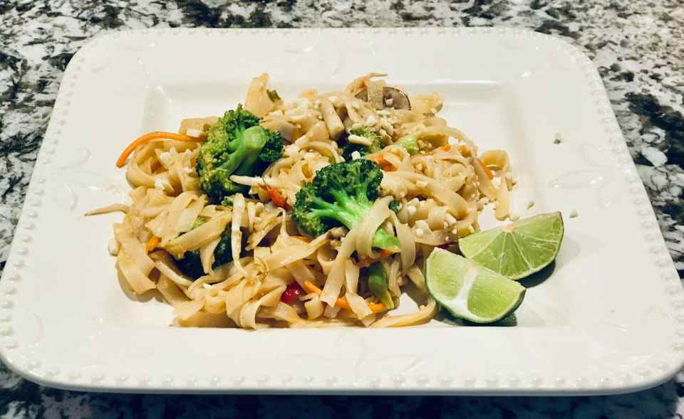 Easy Vegan Pad Thai