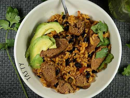 Vegan Rice and Beans