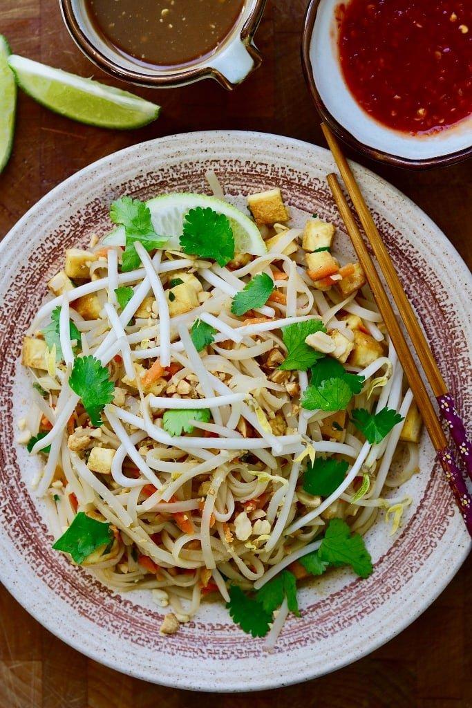 Easy Vegan Pad Thai 1