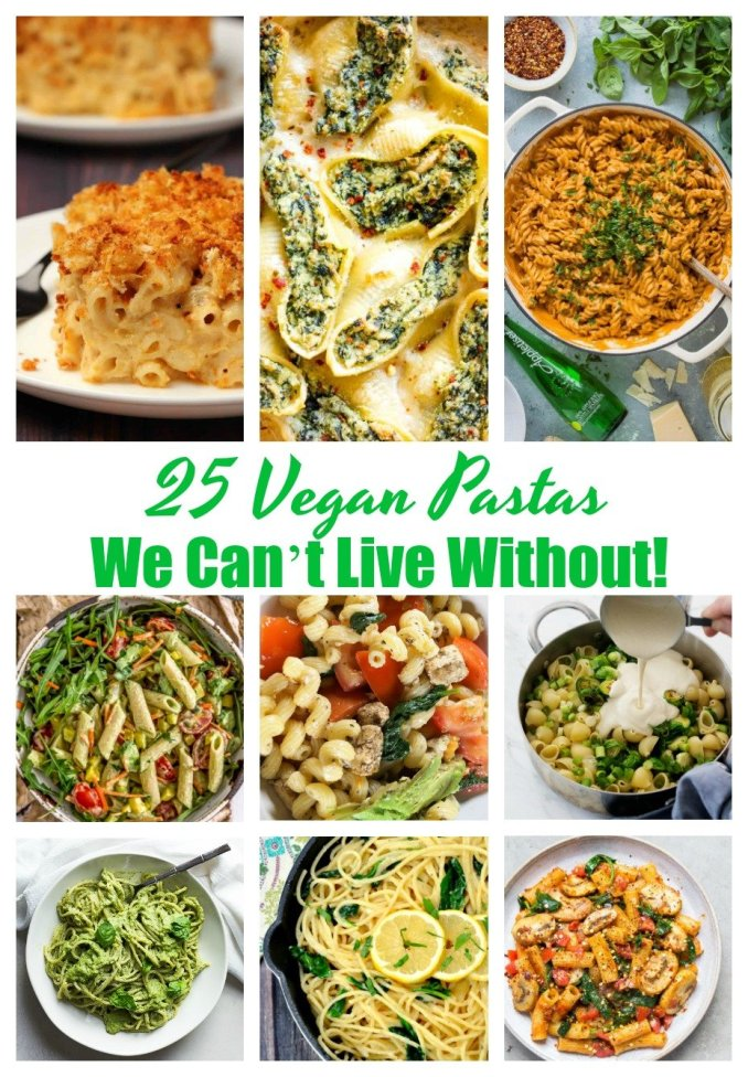 25 Tempting Vegan Pastas We Can't Live Without! 3