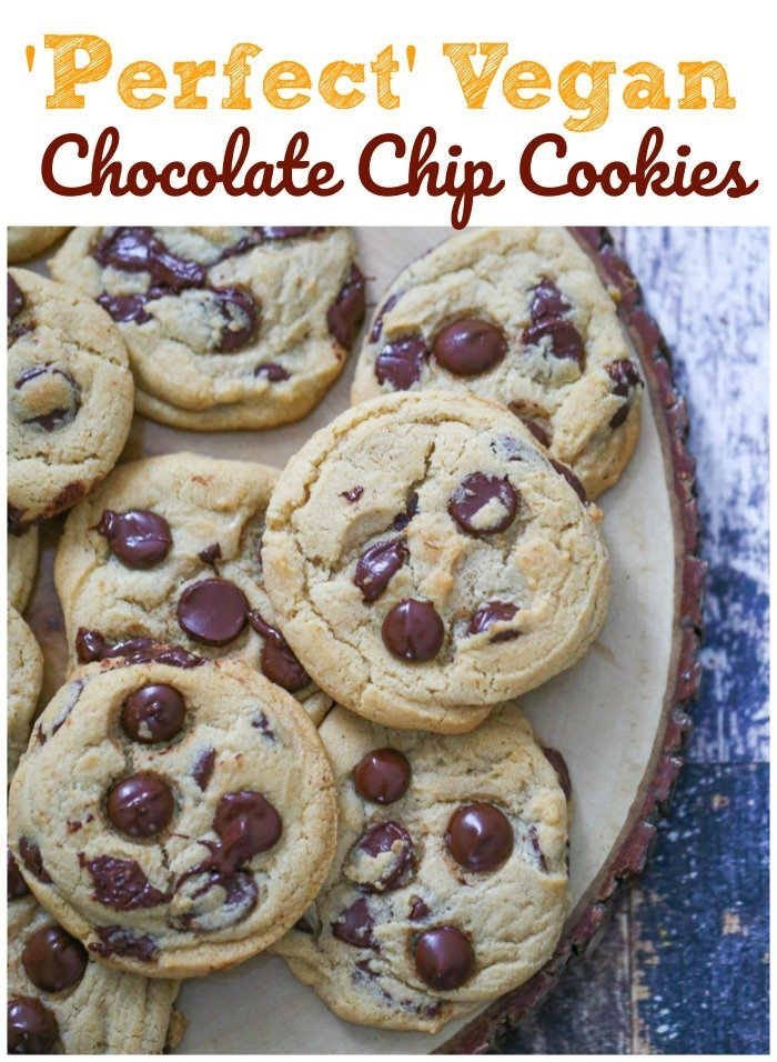 'Perfect' Vegan Chocolate Chip Cookies 2