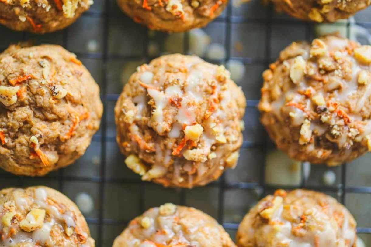Vegan Carrot Muffins 1
