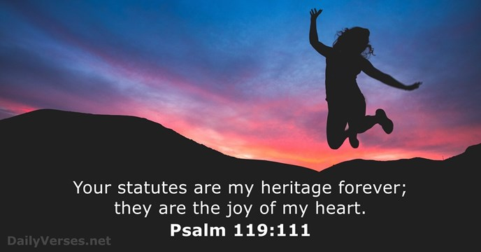 Psalm 119111 Bible Verse Of The Day
