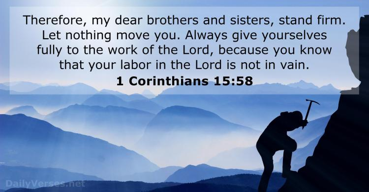Image result for King James version I Corinthians 15:55.to.58