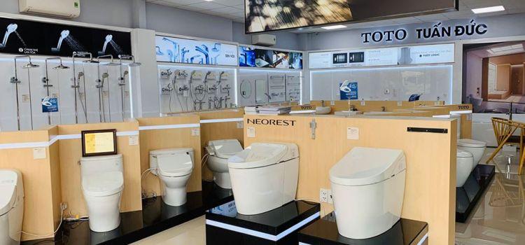 Cửa hàng đại lý bán bồn cầu TOTO tại Bình Dương chính hãng
