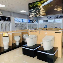 Cửa hàng đại lý bán bồn cầu TOTO tại Hà Nội chính hãng