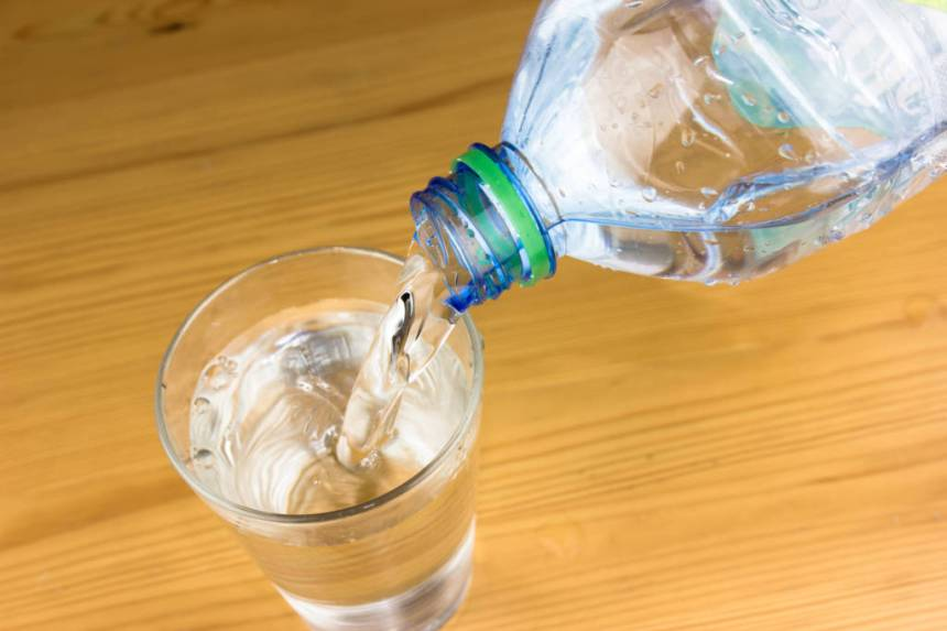 GLASS OF WATER, ALKALINE WATER