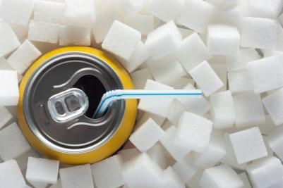 soda with sugar