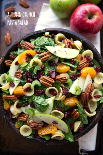 autumn fall salads