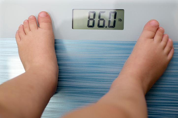 overweight child