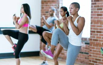 Stay in Shape with Cardio Kickboxing