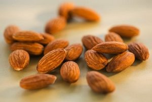 Almonds are one of the healthy nuts to snack on