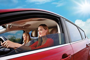 adding a UV-blocking film or tint to car windows can be an effective way to help block harmful rays from the sun