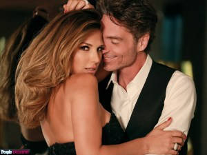 DAISY FUENTES AND RICHARD MARX