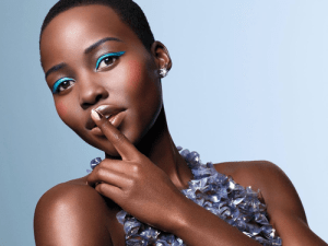 Lupita Nyong'o, lupita, photo of Lupita Nyong'o with finger over her mouth, Lupita Nyong'o hushing