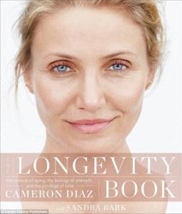 The Longevity Book, Cameron Diaz cover