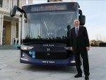 ترکی میں ڈرائیور کے بغیر چلنے والی الیکٹرک بس کا کامیاب تجربہ