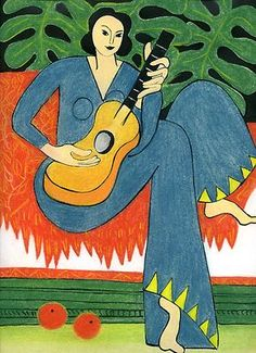 Musical Monstera from Matisse