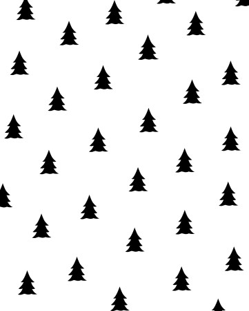 christmas-wrapping-paper-theprintablestudio-trees