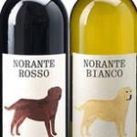 今年の干支「犬」のラベルのワイン。美味しいです