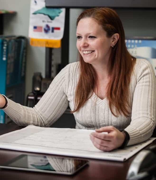 Shannon McAlister, director of the John 3:16 center in Littleton, North Carolina. Photo by Shawn Poynter.
