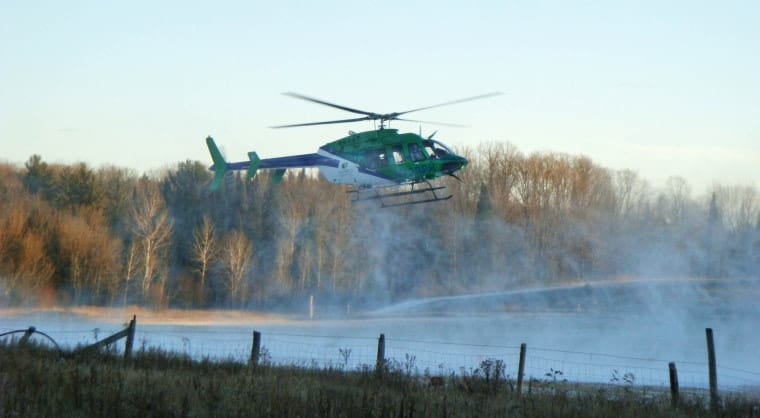 A medical flight crew responds to the scene of a motor vehicle accident in rural northern Wisconsin.