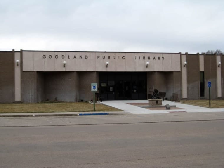 Goodland Public Library in Goodland, Kansas.