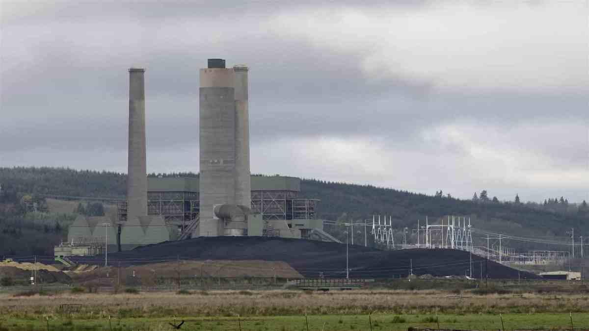 TransAlta coal plant in Centralia, Washington