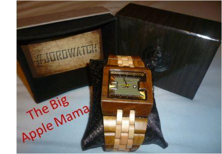 Jord wood watches with box
