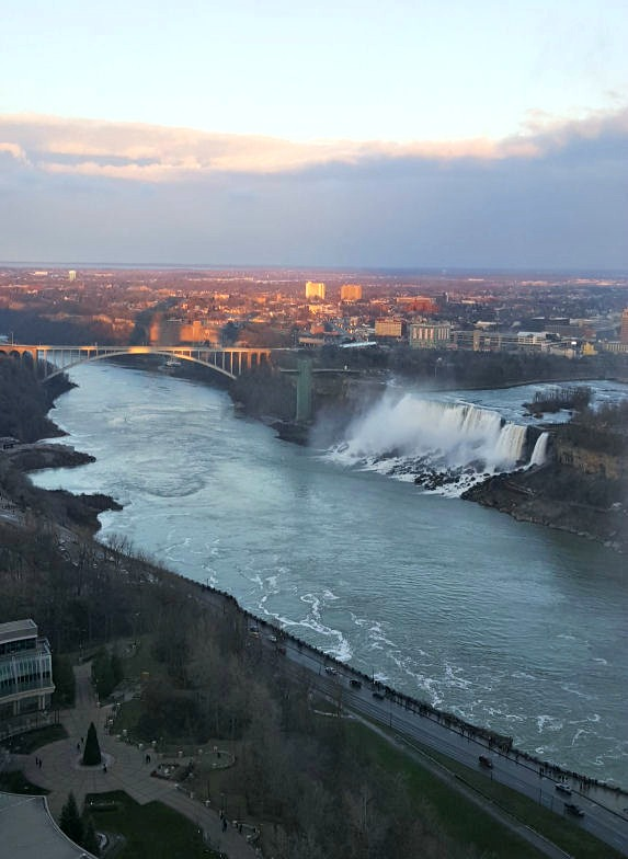 niagara river view from the top