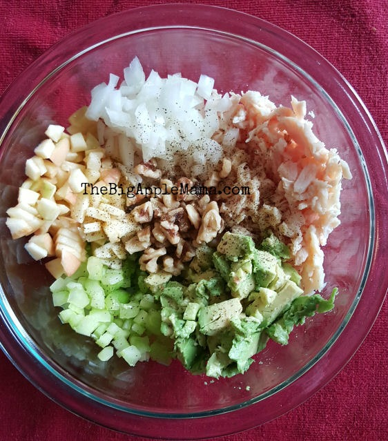 healthy chicken salad ingredients