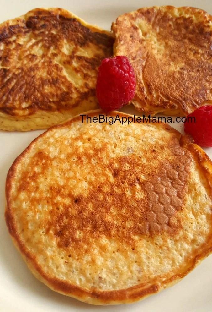 High protein, low carb pancake