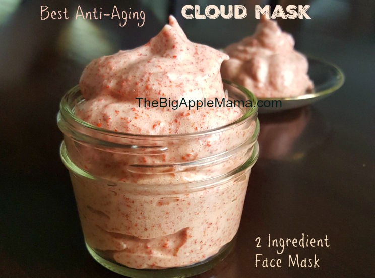Best anti-agind Cloud face mask and body scrub. 2 Ingredients