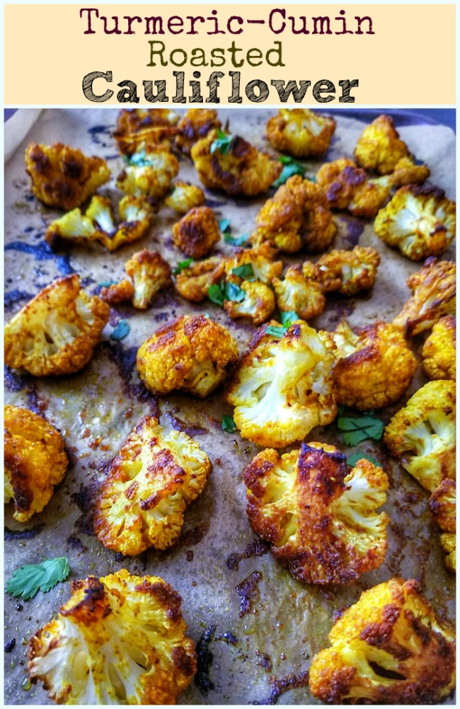 Turmeric Cumin Roasted Cauliflower Bites Daily Yum