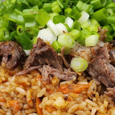 Instant pot Plov Rice Pilaf