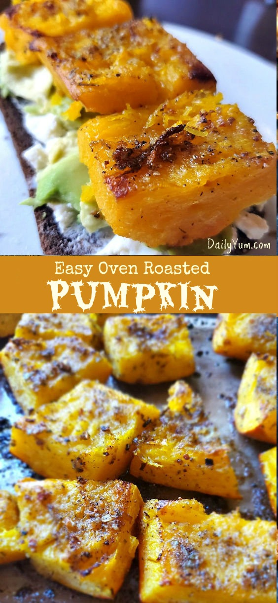 Easy Oven Roasted Pumpkin Recipe