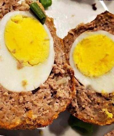 Air Fryer Scotch Eggs Recipe