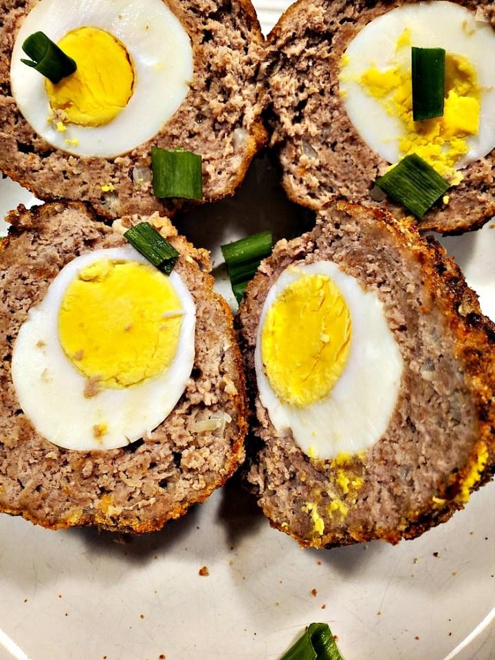 Fried scotch eggs recipe