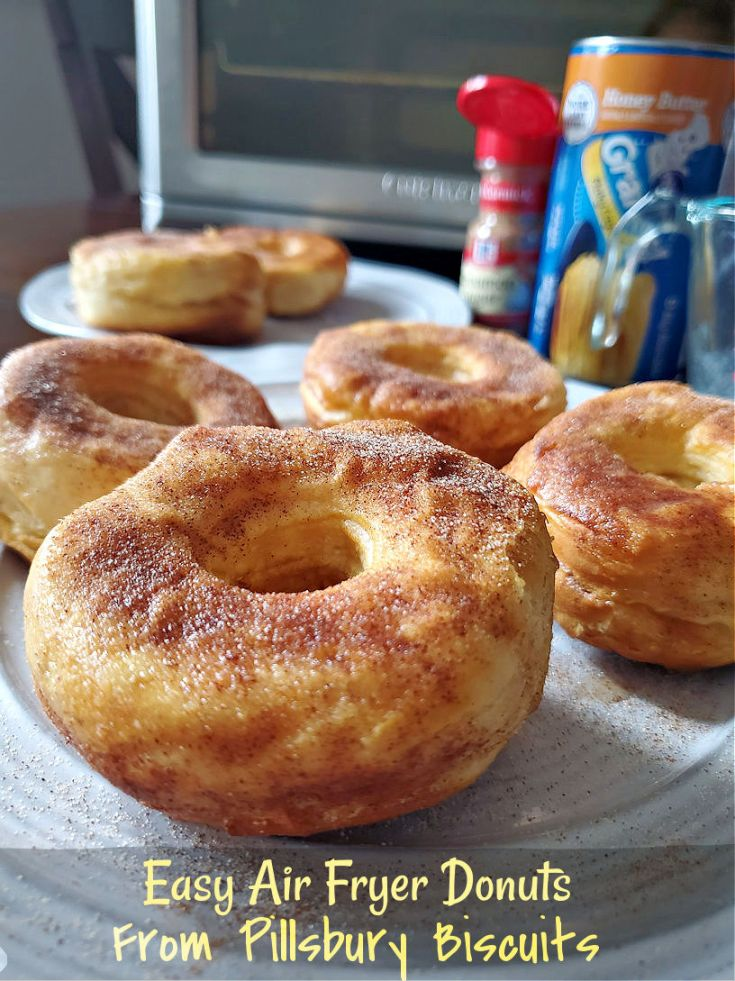 Easy air fryer donuts from pillsbury biscuits